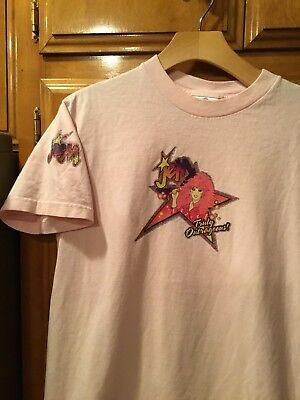 Vintage 90s Jem And The Holograms Cartoon Anime Christy Marx T-shirt Sz. M