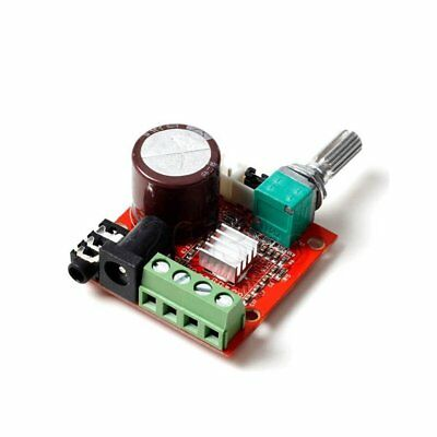 12v Mini Hi-fi Pam8610 Audio Stereo Amplifier Board / 2x10w Dual Channel D Class