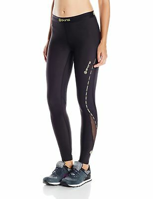 Skins Women's DNAmic Compression Long Tights Black Small New