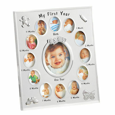 My First Year Baby Picture Photo Frame Baby Shower Gifts Her Daughter Mom To Be