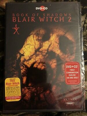 Book of Shadows: Blair Witch 2 (2001, DVD-Video and Special CD Soundtrack) NIP