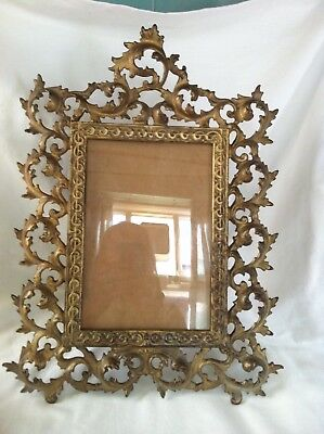 Large Late 19th Century Gilded Cast Picture Frame - 43 cm tall ? French Rococo