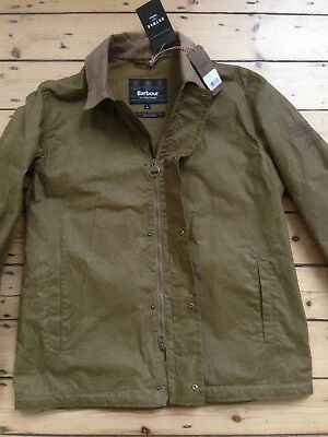 "Barbour International ""steve Mcqueen"" Tread Waxed Jacket. Brand New With Tags."