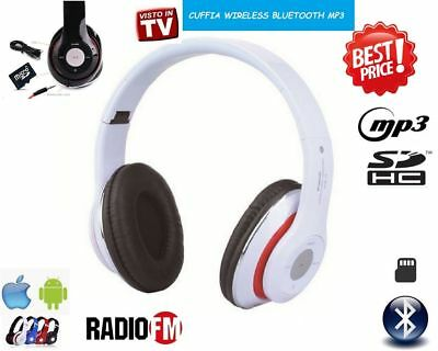 Kopfhörer Wireless Bluetooth Mit Led Mp3 Micro Sd Ukw-Radio Dj