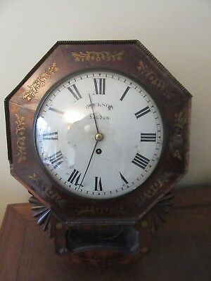 10 Inch Convex Dial Fusee Wall Clock For Restoration