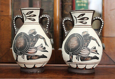 A Finely Made Pair of Museum Reproduction Ancient Greek Amphorae
