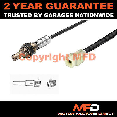 Suzuki Swift Mk3 1.5 (2005-2011) 4 Wire Rear Lambda Oxygen Sensor Exhaust Probe