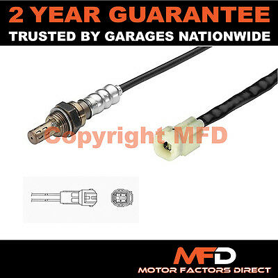 Suzuki Swift 1.0 (1996-) 4 Wire Front Lambda Oxygen Sensor Direct Fit O2 Exhaust