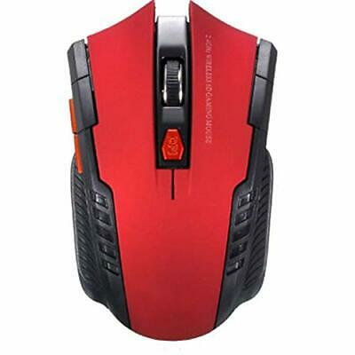 Wireless mouse, Adjustable DPI, 6 buttons, Ergonomic comfortable,Well-designed