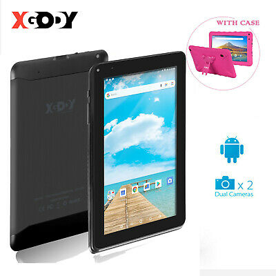 """XGODY 9"""" INCH Android 6.0 Quad Core 1+16GB Webcame WiFi HD Tablet PC W/ Keyboard"""