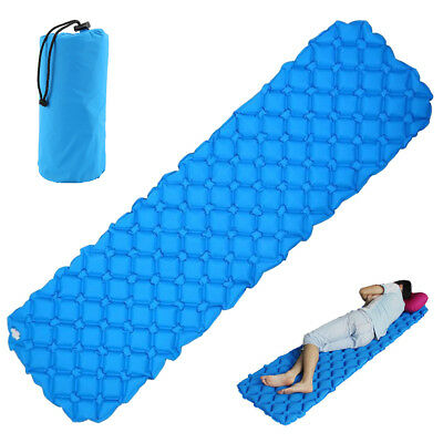 Air Bed Self Inflating Mattress Foldable Inflatable Camping Hiking Sleeping Mat
