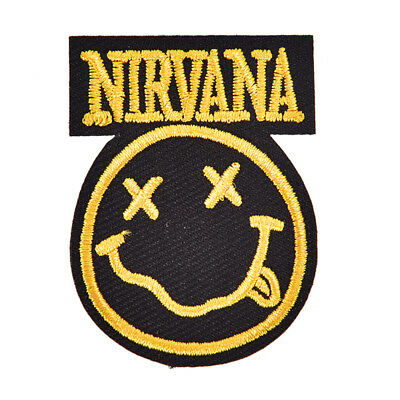 nirvana badge mend decorate patch jeans jackets bag clothes apparel appliqueS3M