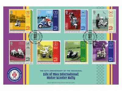 Isle of Man International Scooter Rally First Day Cover (WH91)