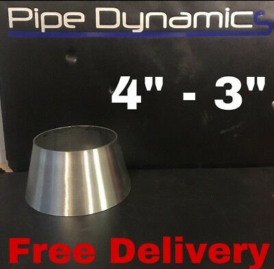 "4"" inch to 3"" inch 316L Stainless Steel Exhaust Reducer Cone"