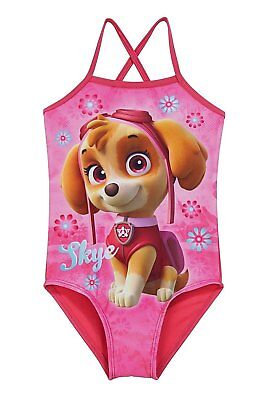 b70926858f Offical Paw Patrol Skye Swimming Costume Swimsuit swimwear kids character  wear