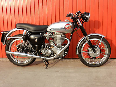 Bsa Gold Star  Dbd34  1959 New Pearson Engine And Electric Start