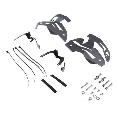 Motorcycle Metal Valve Protector Guard Covers for BMW R1200GS LC 13-15 Grey