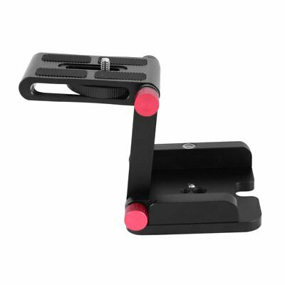 Z-Type Desktop Video Tripod Tilt Head Quick Release Plate Holder for Camera BU