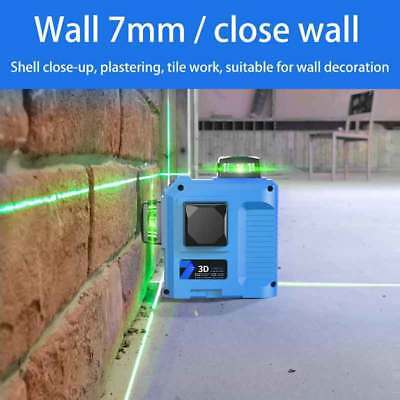 NEW 3D Green Laser Level Self Leveling 12 Lines