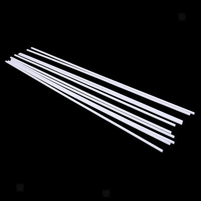 10x ABS 500x5mm Round Tubes Bars Rods for Architecture Building Models Gifts