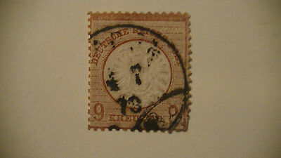 Germany: Early Reich Stamp.used. # 25. $$$$$$$$$$$$$$$$ H/v.
