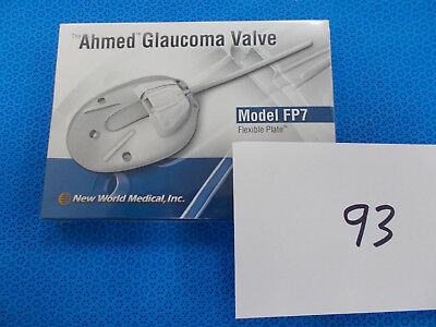 New World Medical AHMED Glaucoma Valve Flexible Plate, Model FP7 (x)