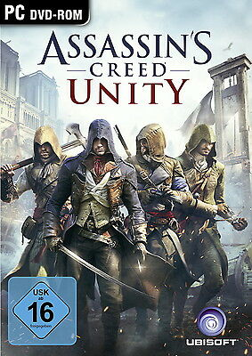 Assassin's Creed: Unity / Uplay PC Download Key DE EU / SOFORTVERSAND