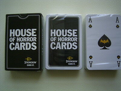 Strongbow House of Horror Playing Cards Sealed Set