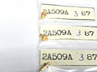 2A509A Military Si Switching p-i-n Diode, 150GHz Lot of 2pcs