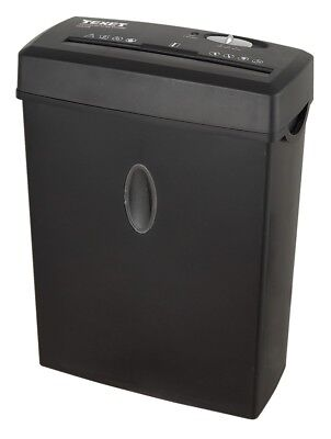 Texet 12 Litre Cross Cut Shredder 6 sheet paper shredder