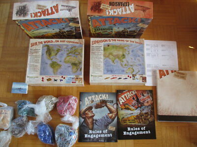 Attack + Expansion Box Set – komplett - English – Eagle Games board game tableto