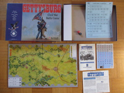 Gettysburg A Civil War Battle Game – Unpunched complete English Avalon Hill AH b