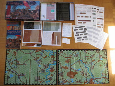 Stand & Die - Battle of Borodino 1941 – Unpunched complete English GDW board gam