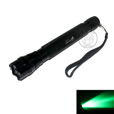 New UltraFire Tactical WF-501D CREE Green Light LED 1Mode 150 Lumens Flashlight