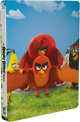 The Angry Birds Movie - Limited Edition Steelbook [Blu-ray] New and Sealed!!
