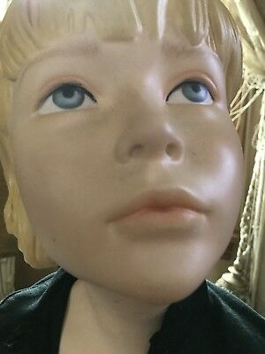 Wolfe & Vine Mannequin Greneker Realistic Girl Child store display 41""