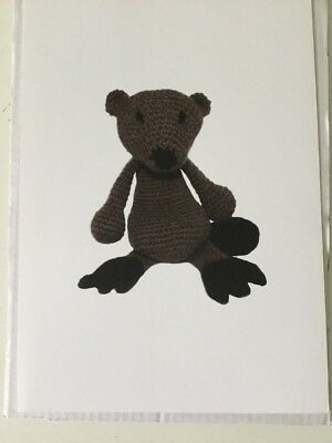 TOFT KERRY LORD - Crochet Pattern Linda The Beaver Ed's Animals