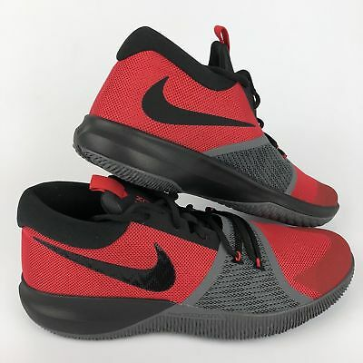 7e38a3fb7cb Nike Zoom Assersion Men s Basketball Shoes 917505-600 Red Black Grey Size 11