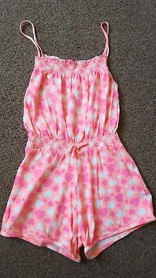 Girls Shorts Playsuit Age 7-8yrs. Very Good Condition Perfect for summer holiday