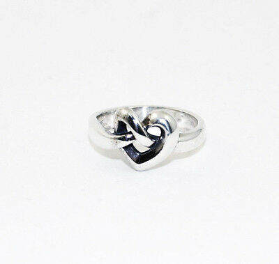 JAMES AVERY  Heart Knot Ring  Size 5 1/4