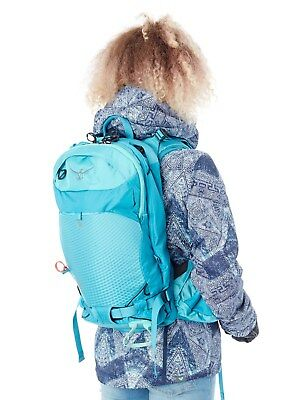 Osprey Powder Blue Kresta 20 Womens Snowboarding Backpack