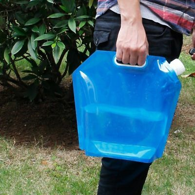 Travel Camping Outdoor Storage Lifting Bottle Foldable Container Water Bag