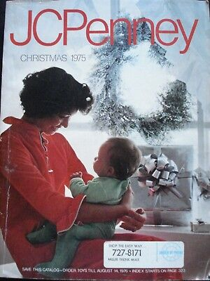 Vintage 1975 JC Penney Christmas catalog Penneys in Excellent Condition