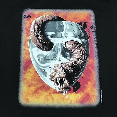 Vintage Friday the 13th Jason goes to Hell Tee Shirt Large 1997 Copyright Horror