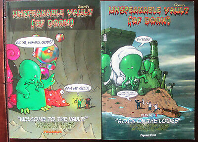 Pegasus Press, Unspeakable Vault of Doom SET, RARE, selten,Comic, Lovecraft