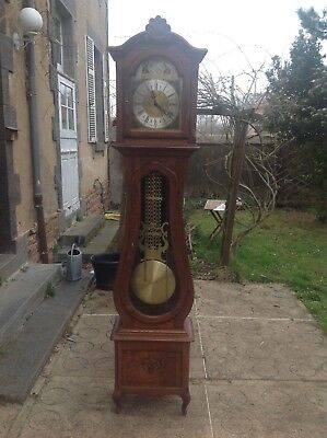 French- Belgian vintage Grandfather clock