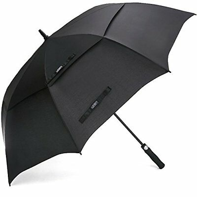 G4Free Golf Umbrella 68 Inch Windproof Double Canopy Vented Extra Large...