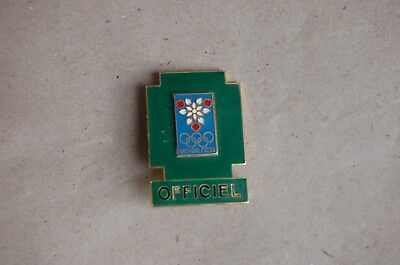 Pins Broche Badge Olympique Grenoble 1968