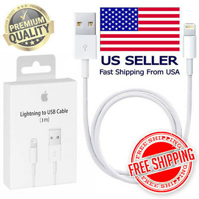 OEM Apple Lightning to USB Charge Cable LOT