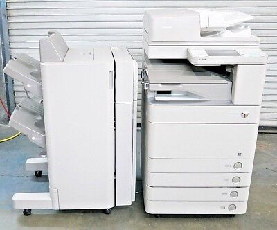 Canon ImageRunner Advance C5045 Color Duplex TPC 603K Copier w/ Finisher Toner